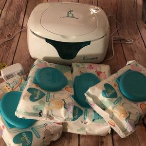Hiccapop baby wipes warmer